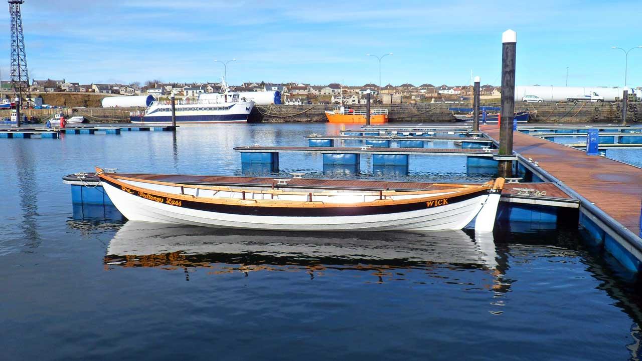 Photo: Wick Coastal Rowing Club Launch Second Skiff - Pulteney Lass