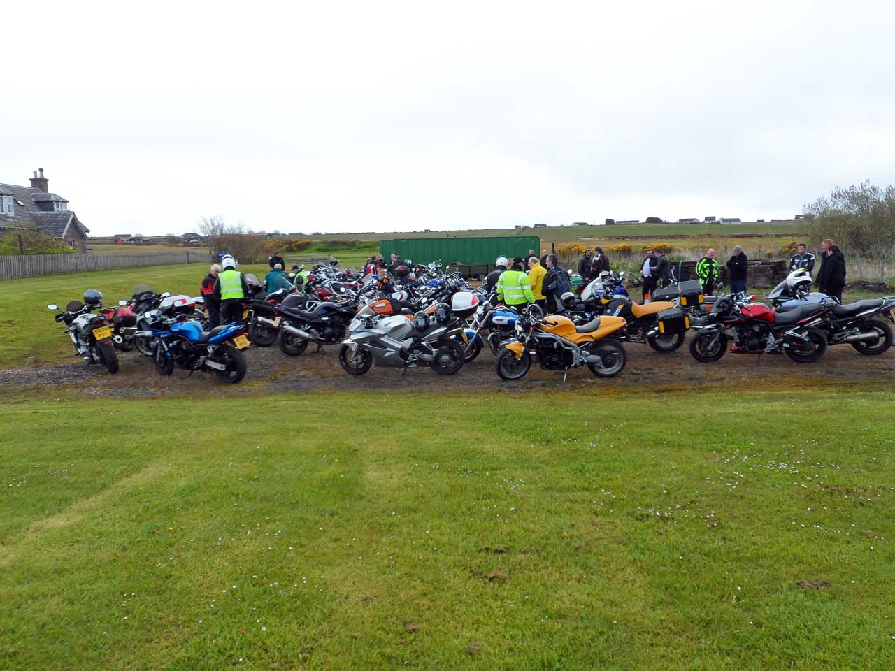 Photo: Caithness Classic Motorcycle Club Rally 2015
