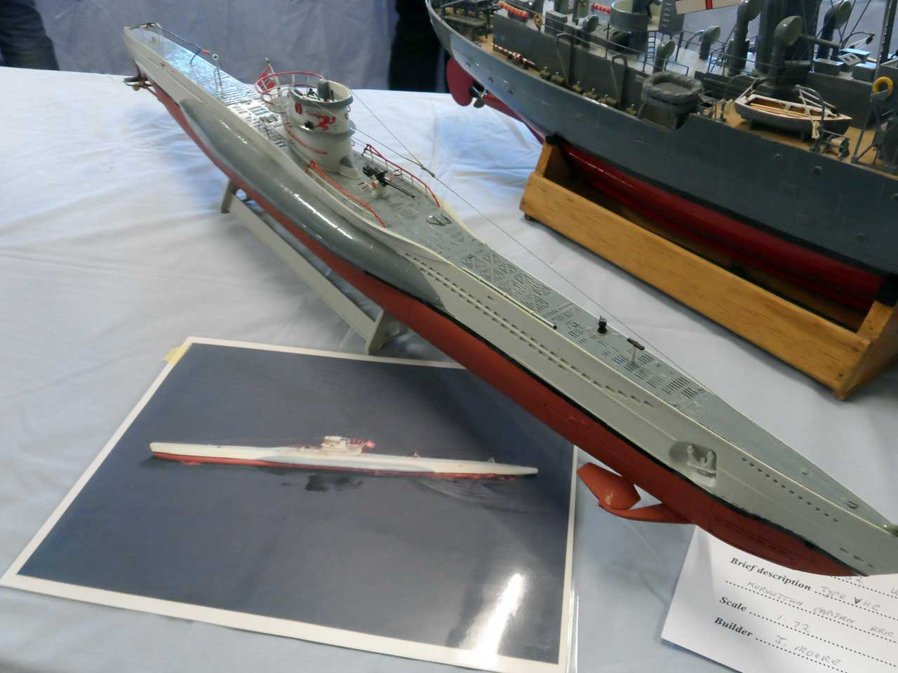 Photo: U552 - U-boat - Type V11C - Model Boat Show 2015