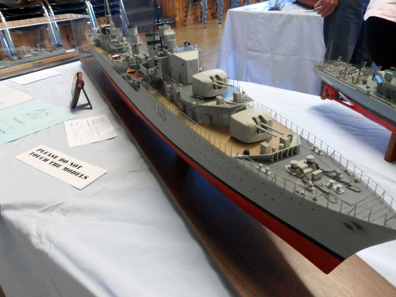 Photo: HMS Cossack - Tribal Class - Model Boat Show 2015