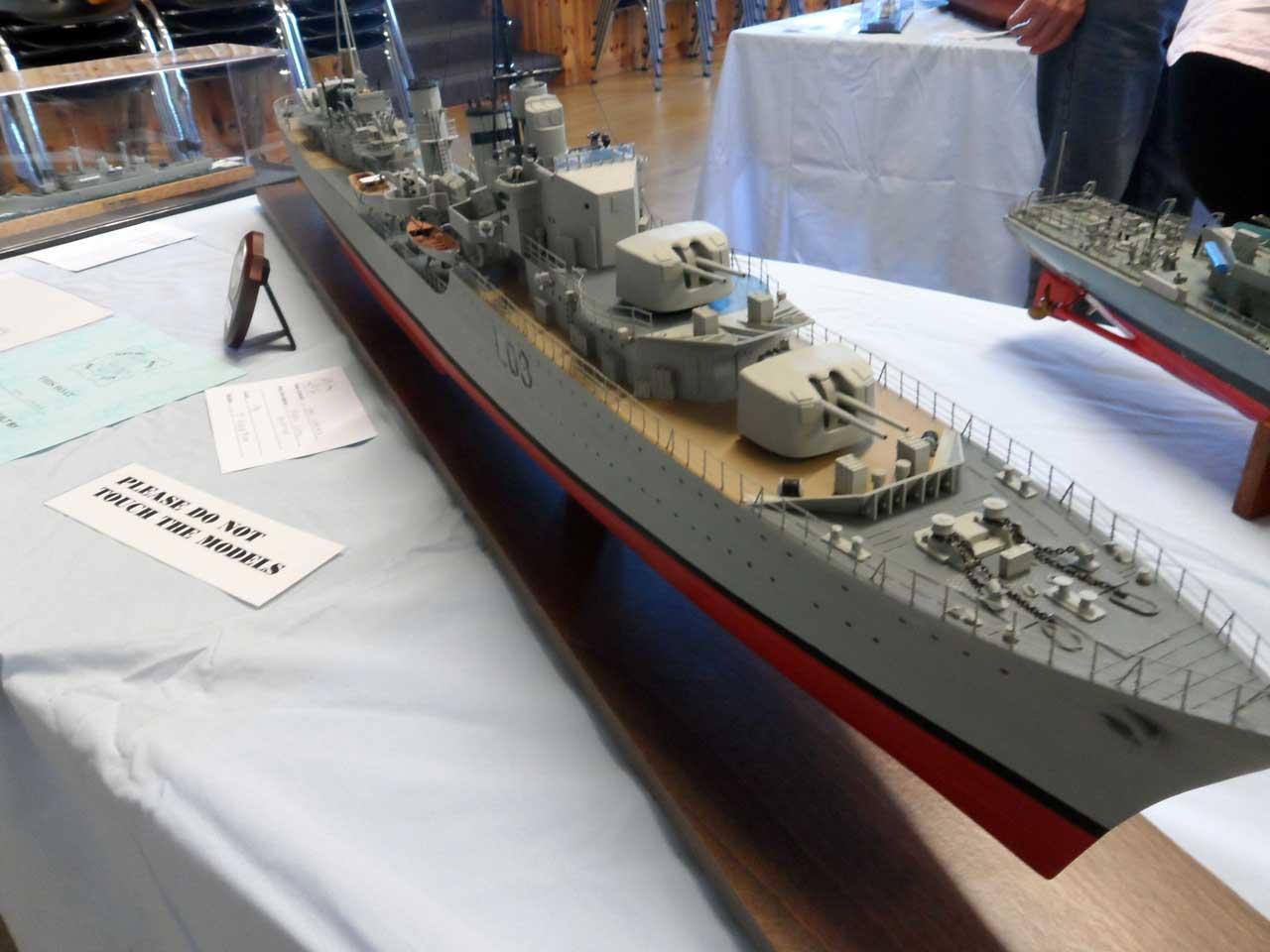 Photo: HMS Cossack - Tribal Class - Model Boat Show 2015