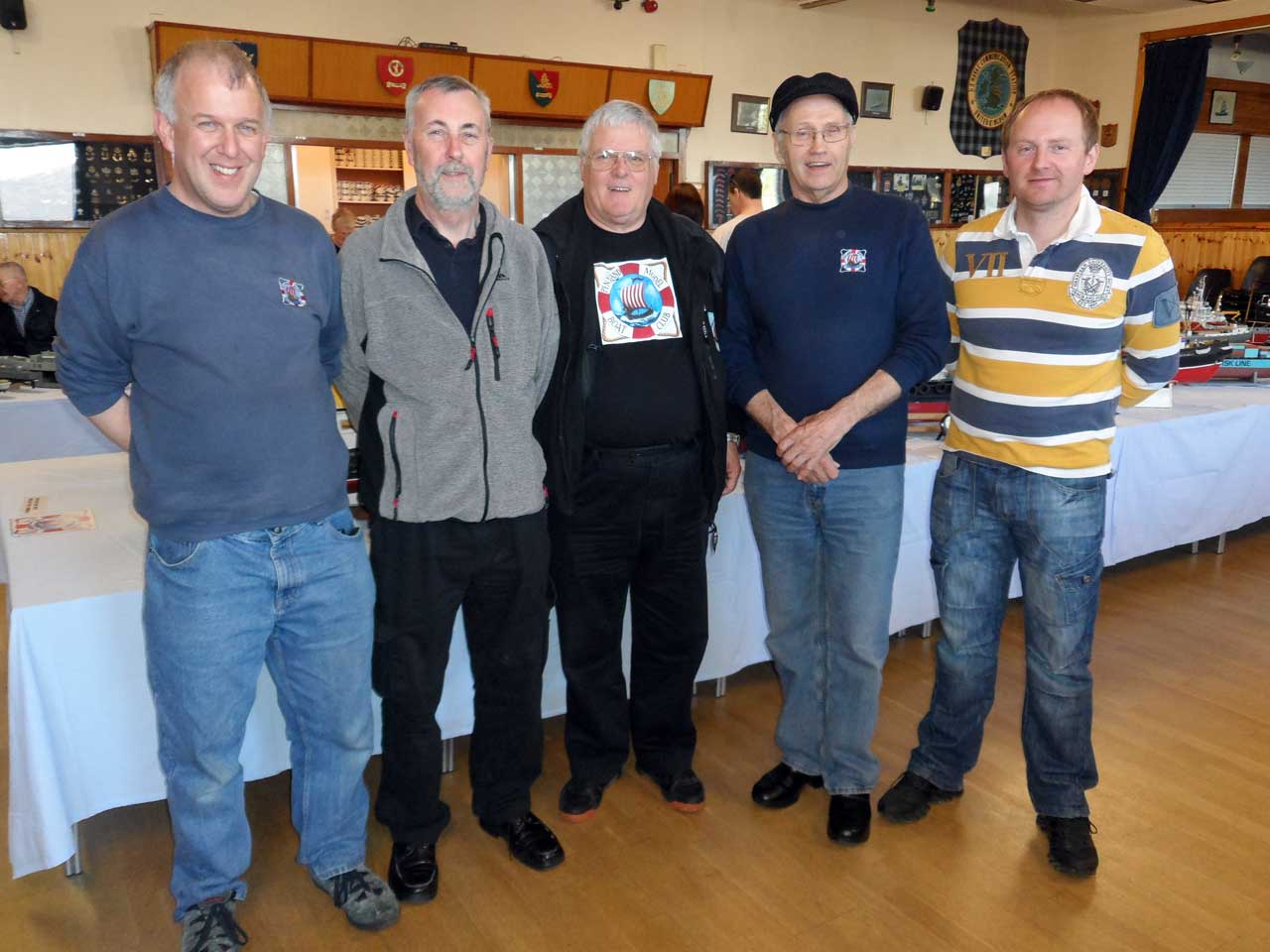 Photo: Winners At The Caithness Model Boat Show 2015