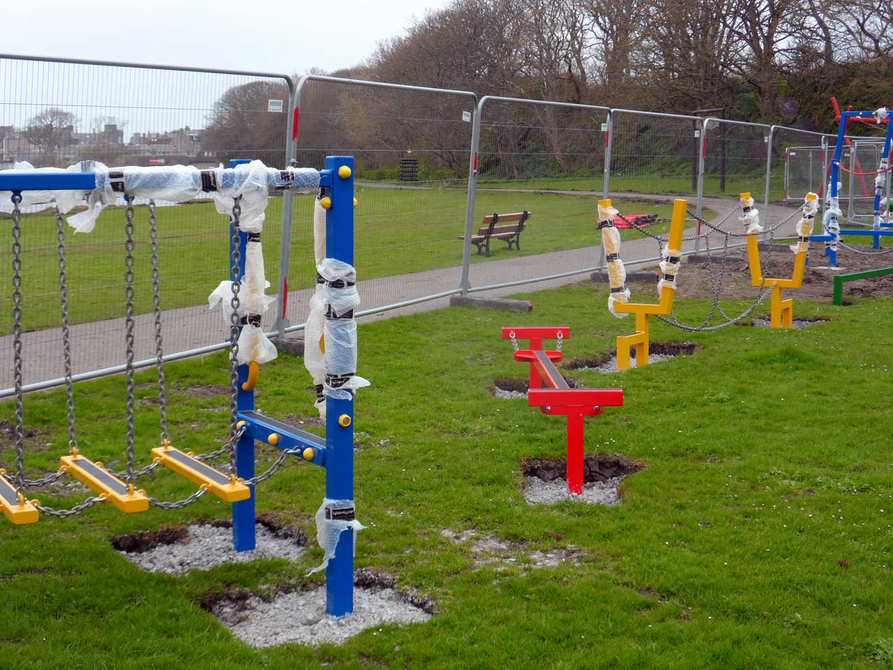 Photo: New Play Park At Riverside, Wick