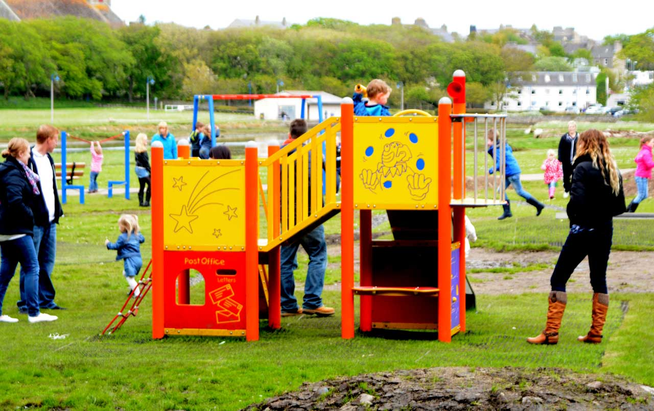 Photo: New Play Park At Riverside, Wick now open
