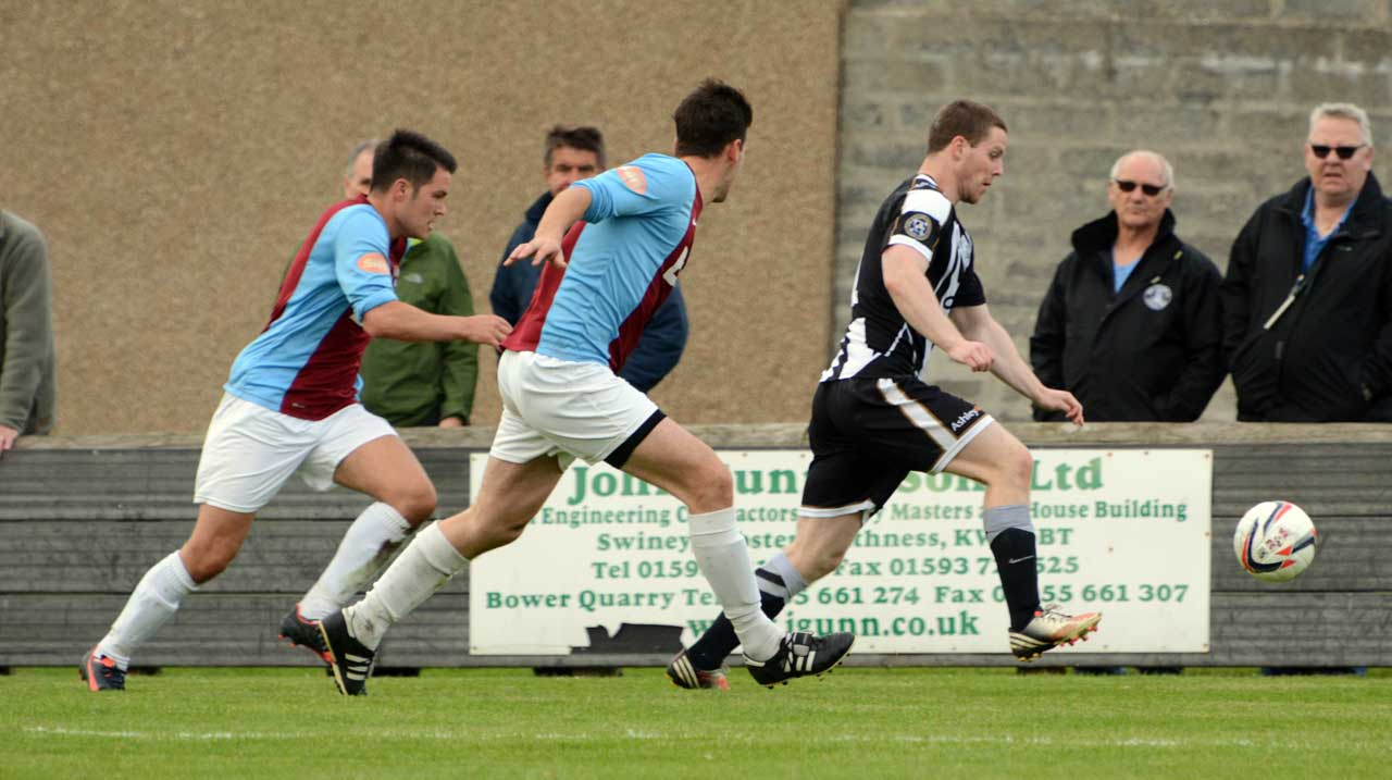 Photo: Wick Academy 2 - Whitehill Welfare 2