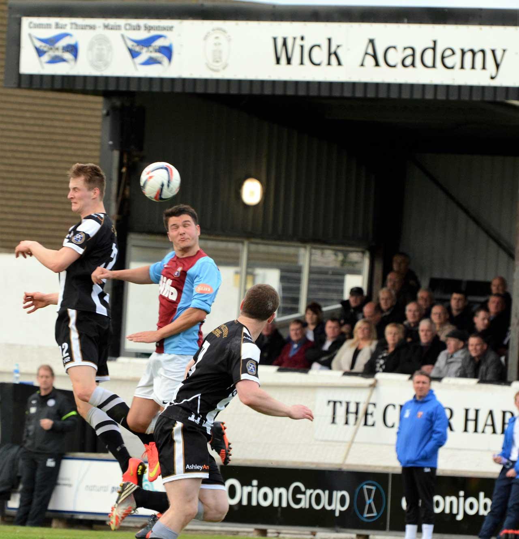 Photo: Wick Academy 2 - Whitehill Welfare 2