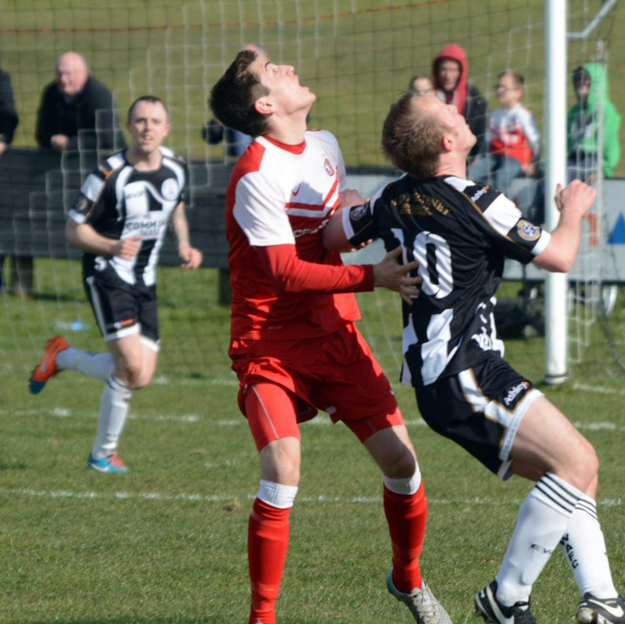 Photo: Wick Academy 2 Brora Rangers 2