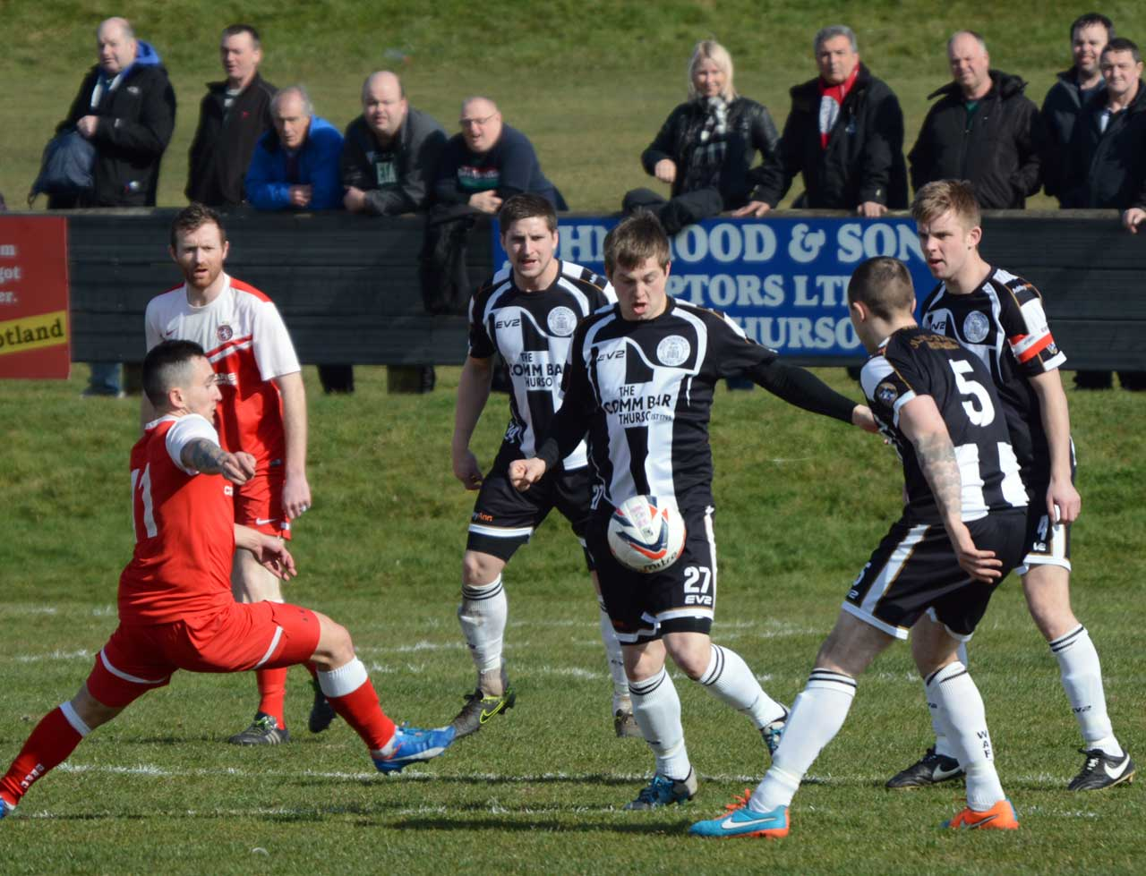 Photo: Wick Academy 2 Brora Rangers 2