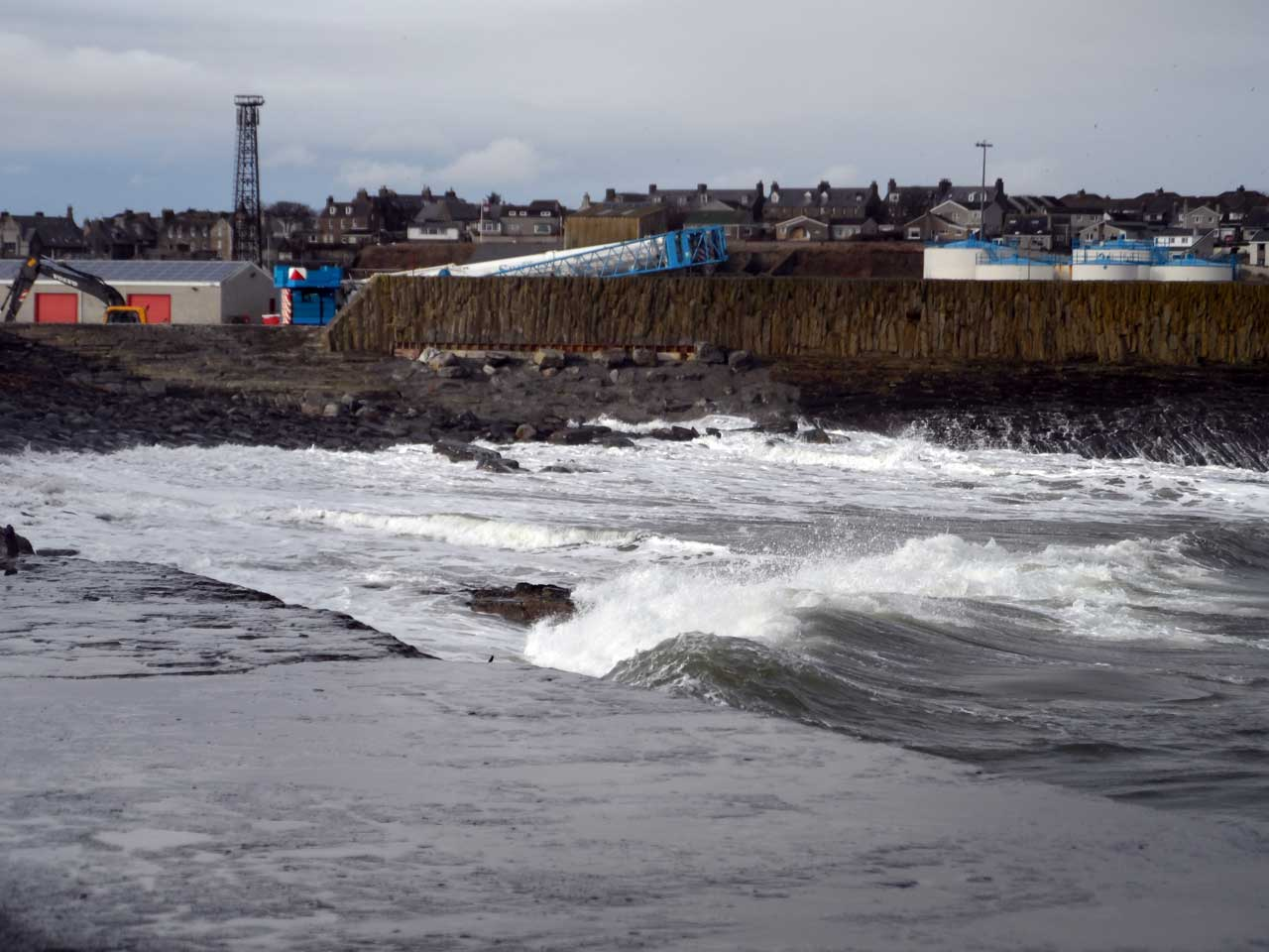 Photo: Wick Harbour 7 February 2016
