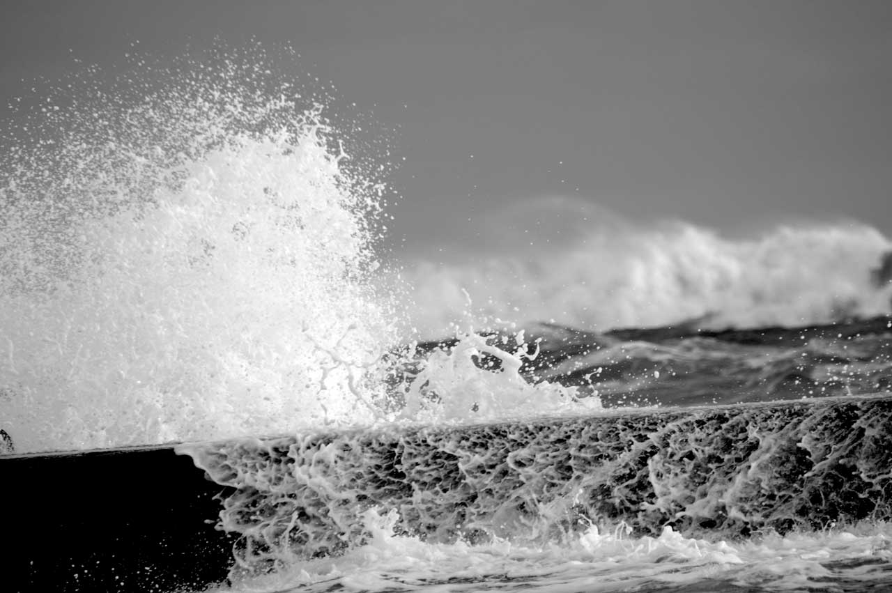 Photo: Stormy Day at Wick - 4 January 2016