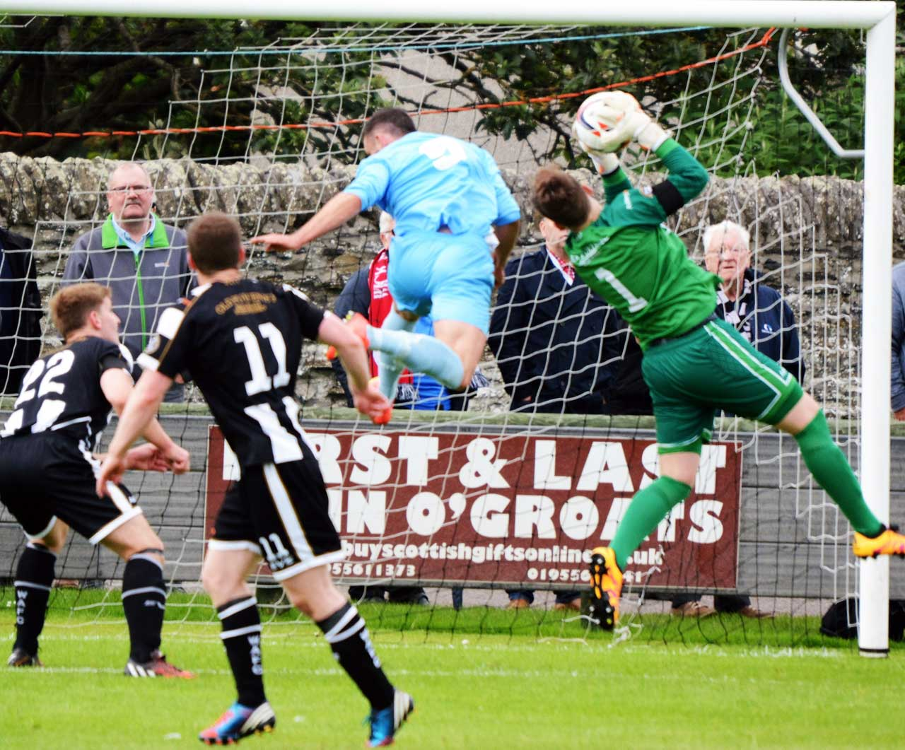 Photo: Wick Academy 2 Turriff United 0