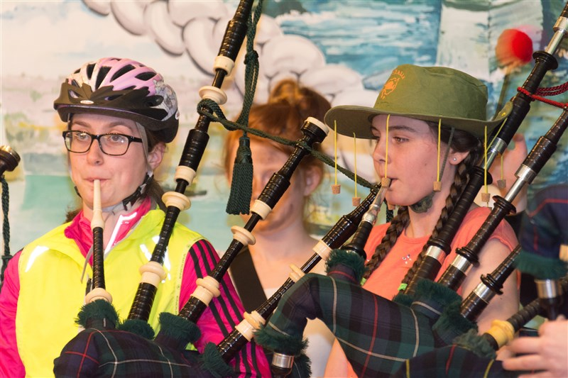 Photo: Wick Pipe Band Fun Night