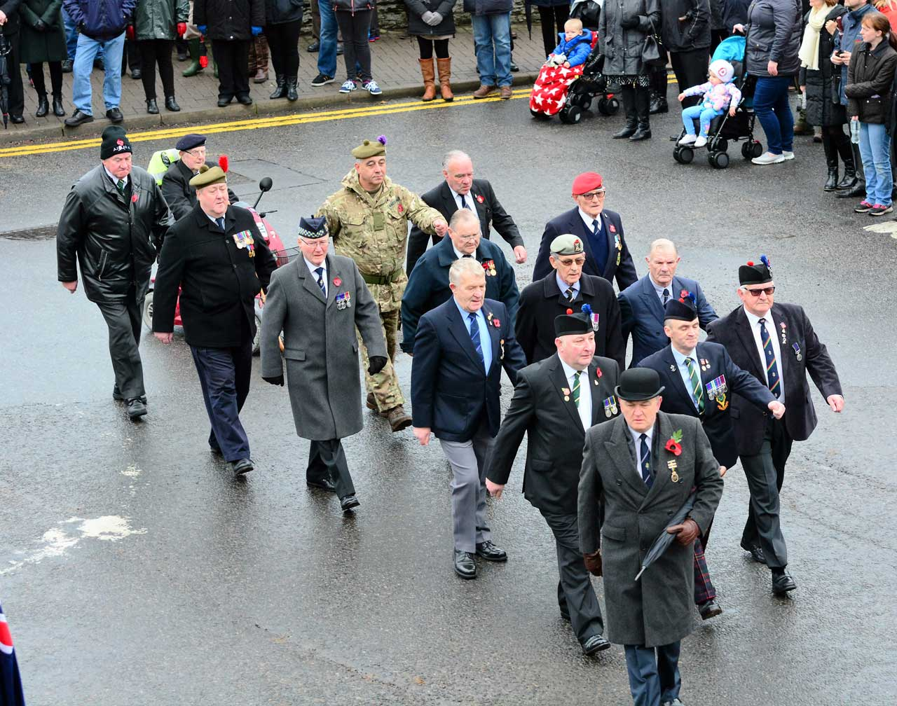 Photo: Remembrance At Wick 2016