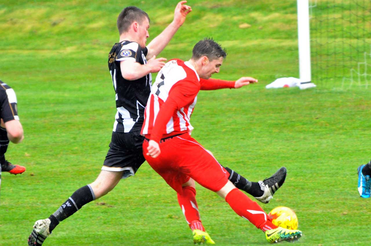 Photo: Wick Academy 2 Formartine United 2