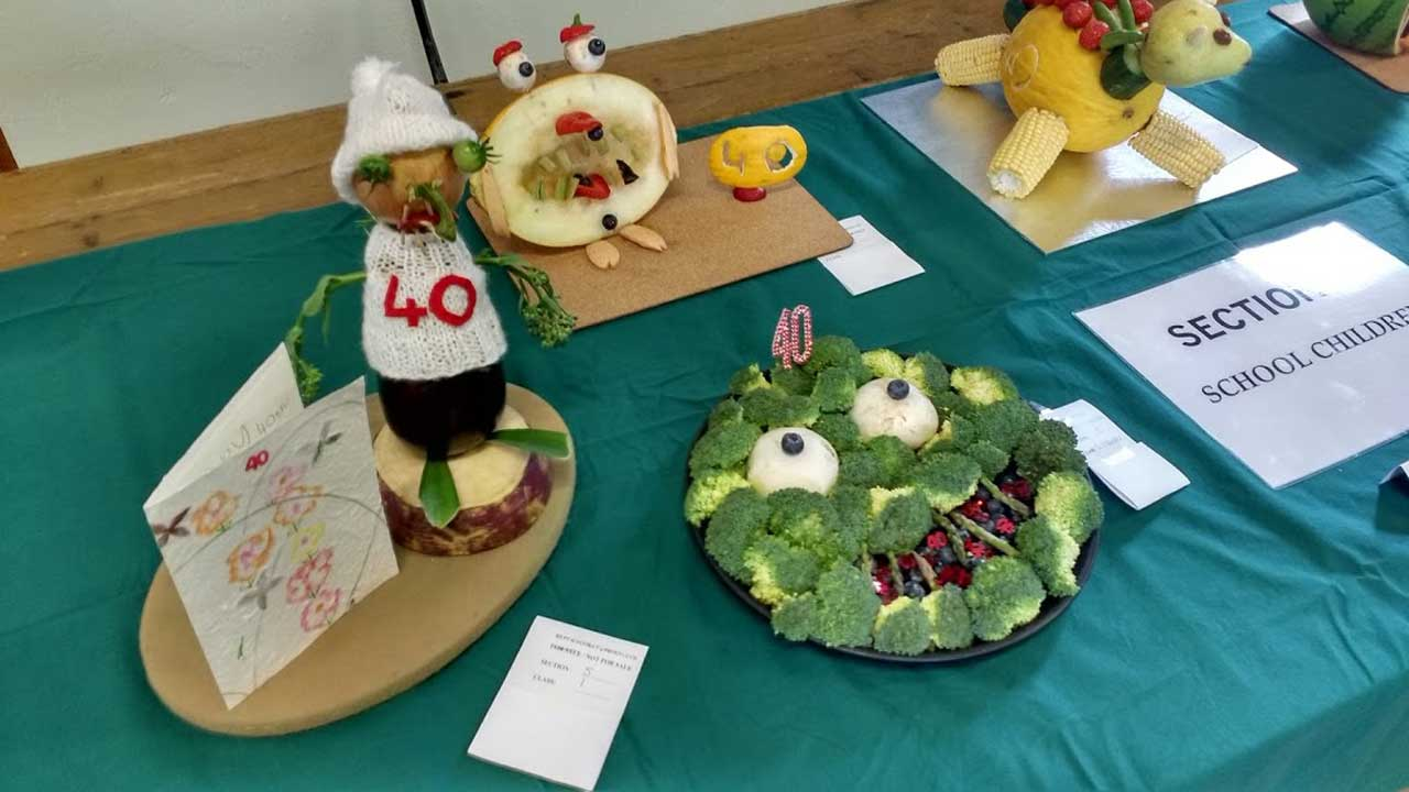 Photo: Reay and District Garden Club 40th Horticultural Show 2017