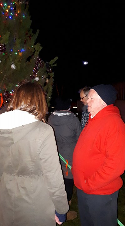 Photo: Christmas Tree And Carols At Town and County Hospital