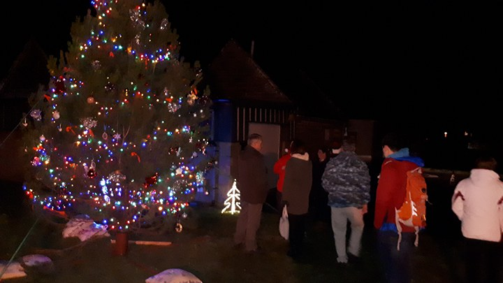 Photo: Christmas Tree And Carols At Town and County Hospital