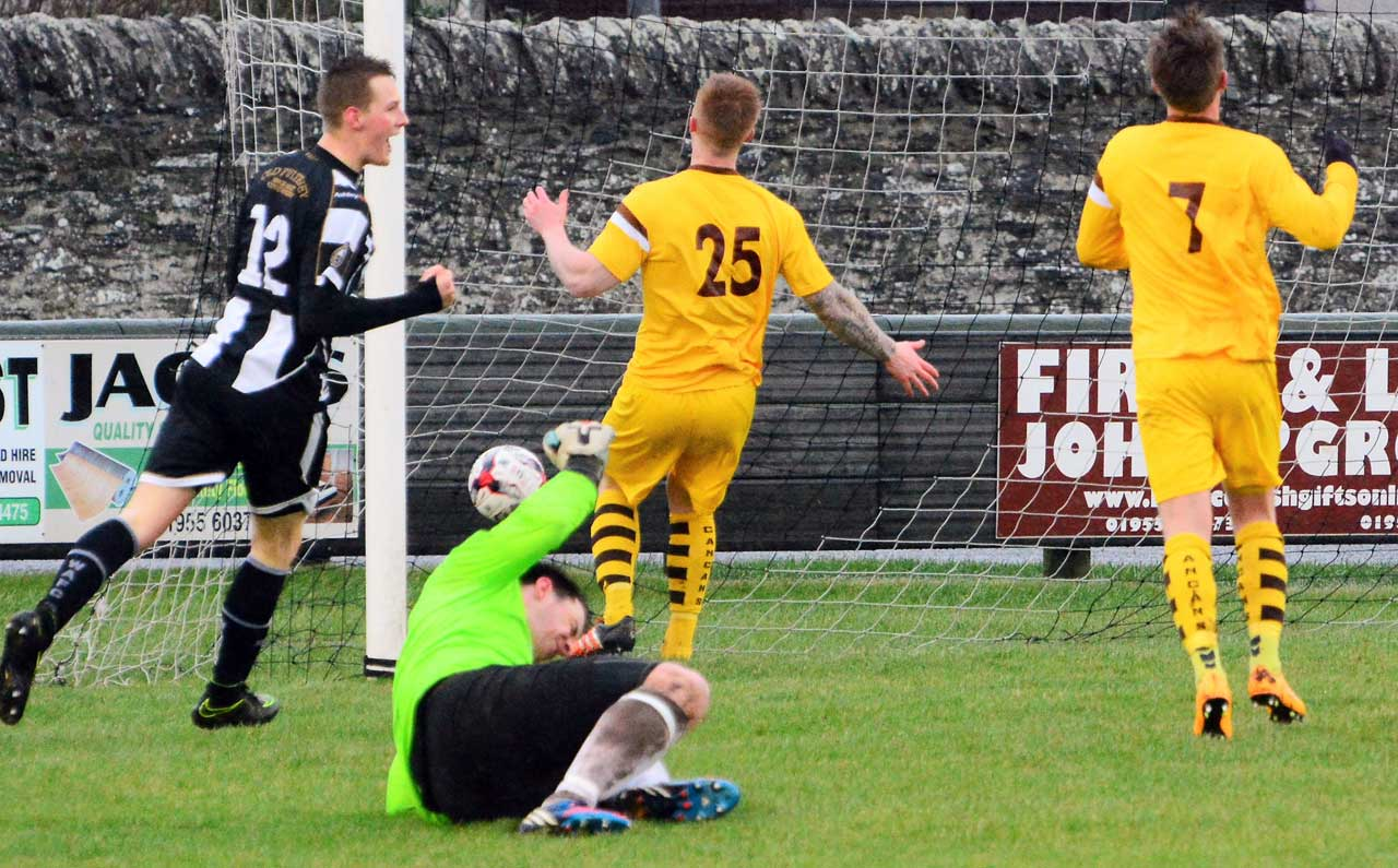 Photo: Wick Academy 2 Forres Mechanics 2