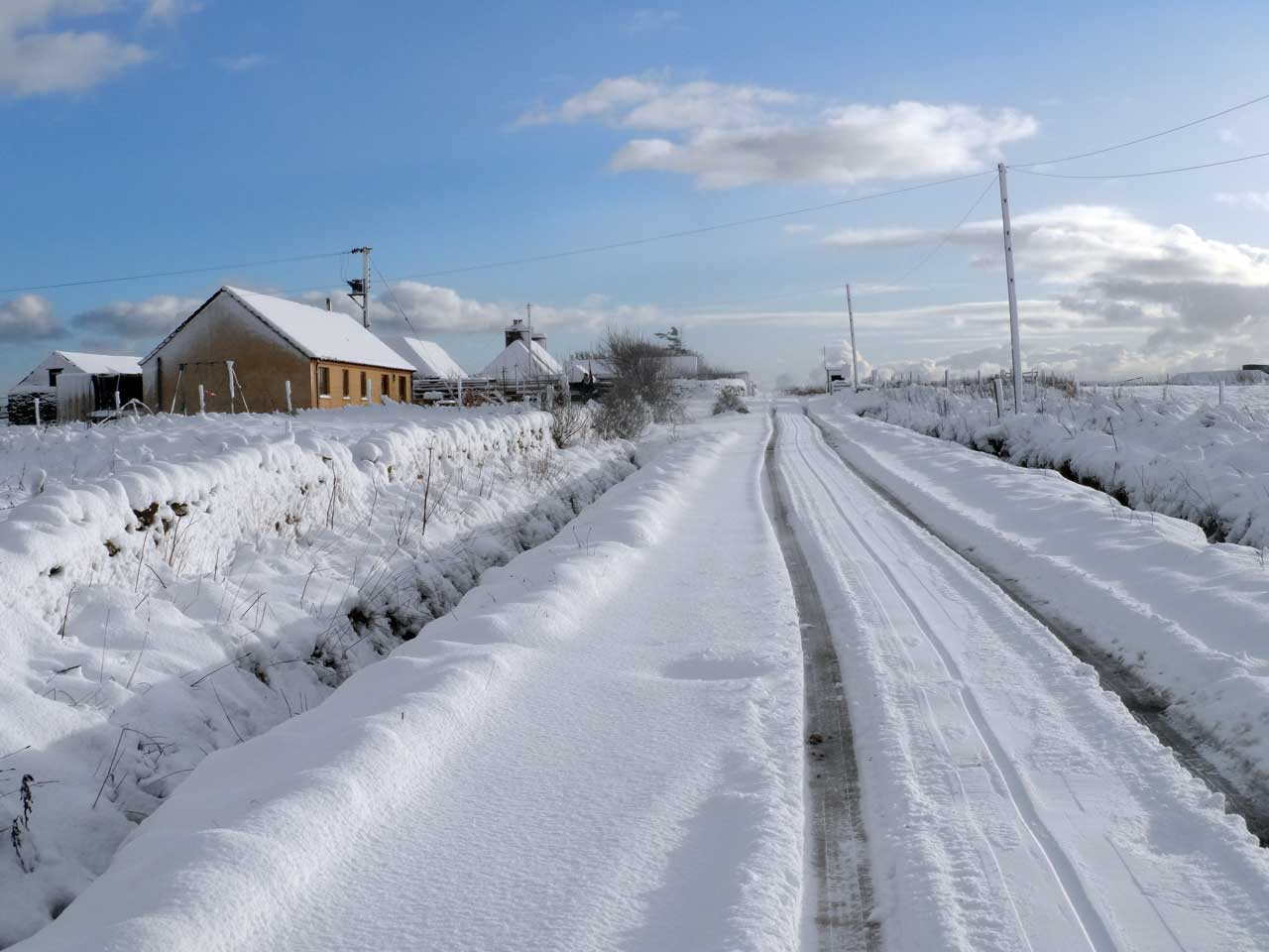 Photo: March Road, Wick, Caithness
