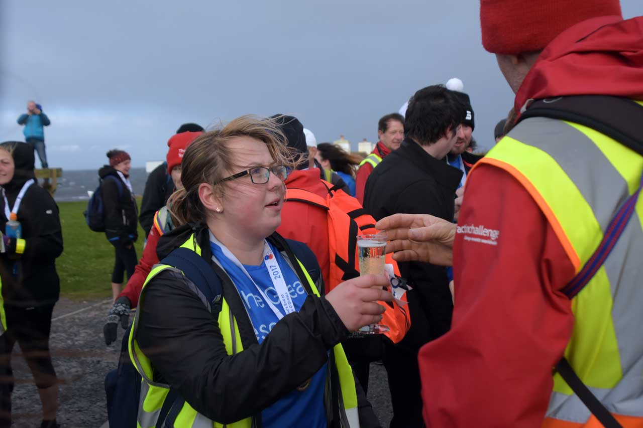 Photo: Final Leg Of Tesco Lands End to John O'Groats Walk