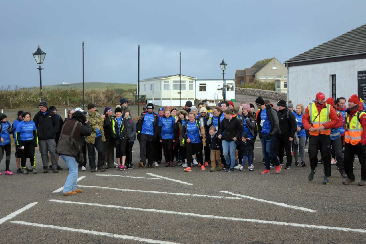 Photo: Final Leg Of Tesco Lands End to John O'Groats Walk