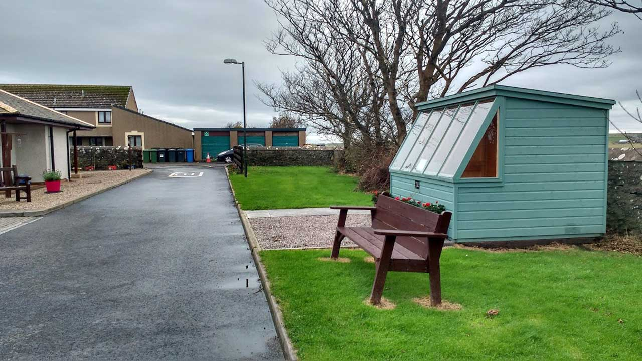 Photo: Town and County Hospital, Wick