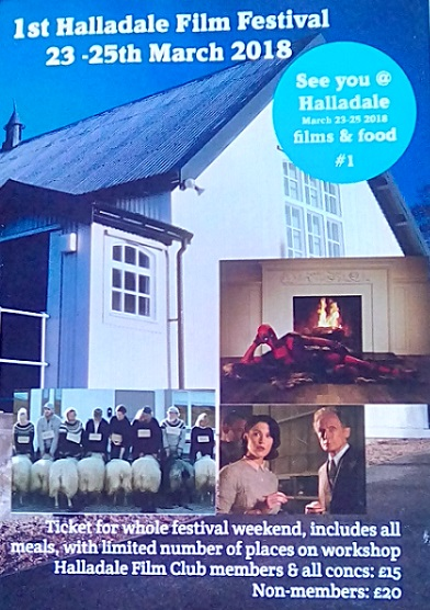 Photo: Halladale Film Festival 23 - 25 March 2018