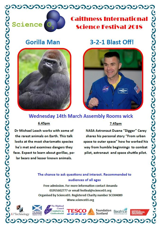 Photo: Gorilla Man and Blast Off - Wednesday 14th March 2018
