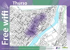 Free wifi in Thurso Town Centre
