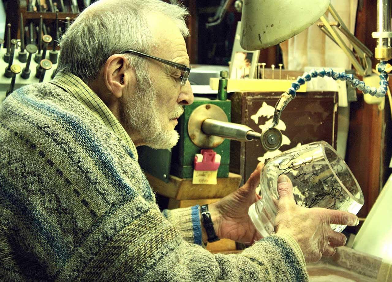 Photo: Denis Mann At His Workshop