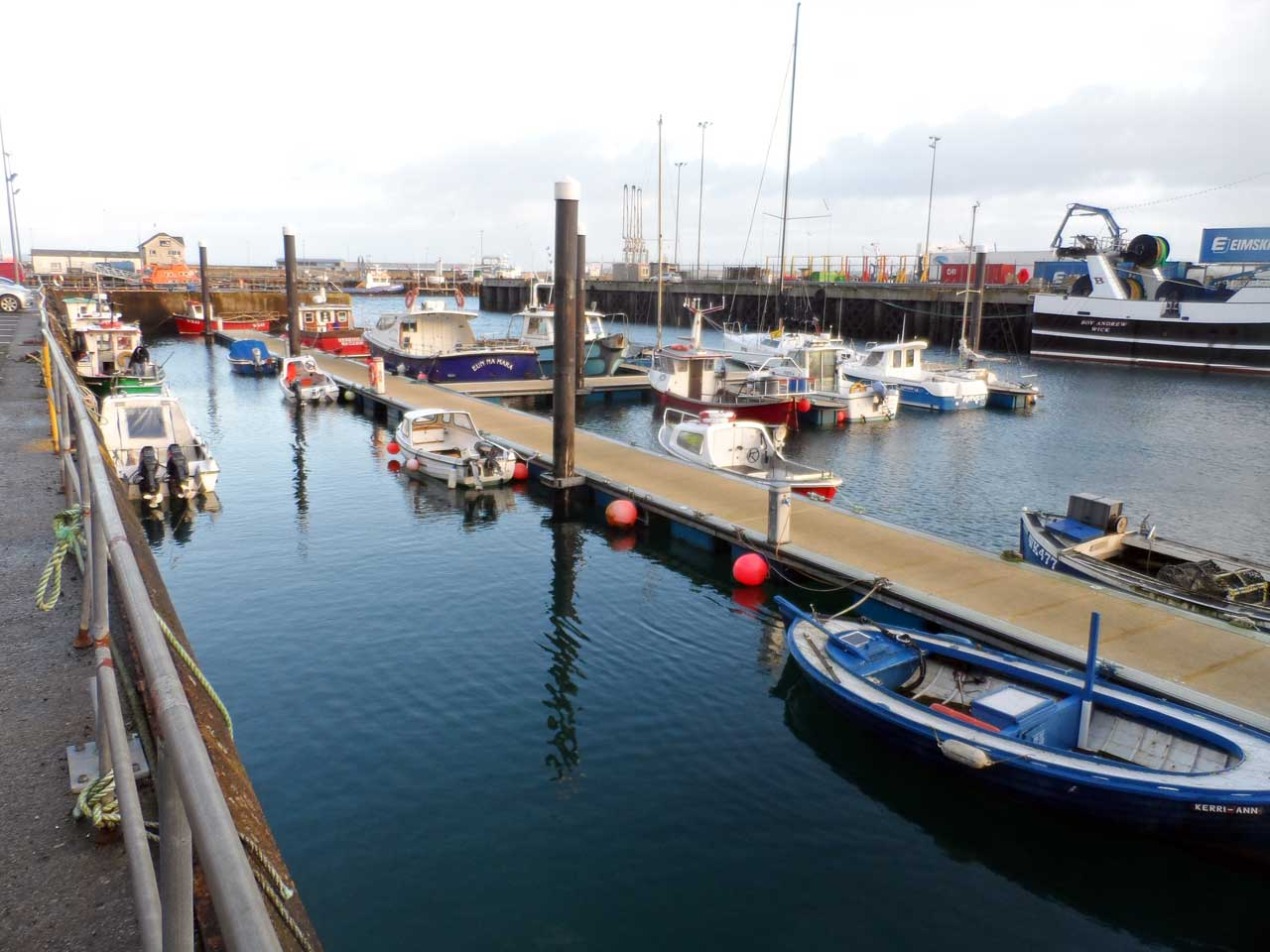 Photo: Scrabster Harbour At The End Of 2019
