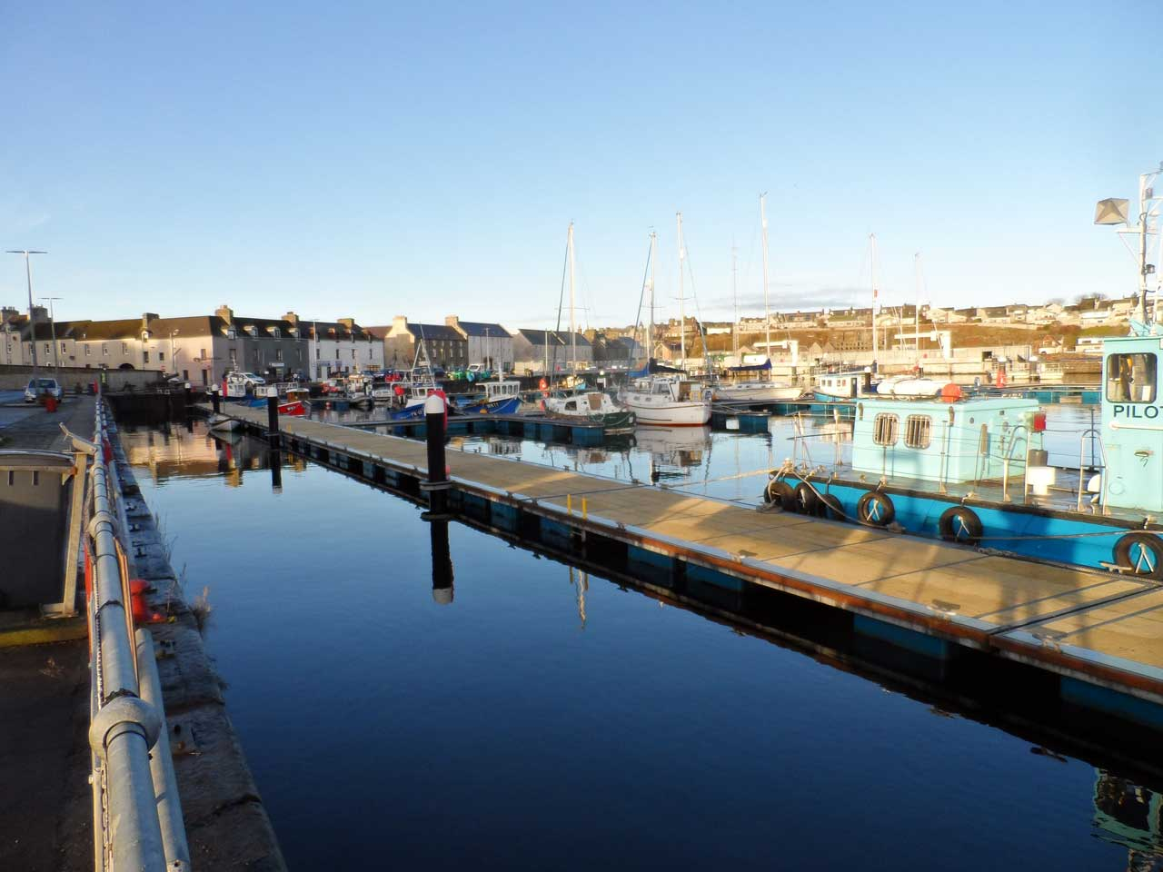 Photo: Wick Harbour At The End Of 2019