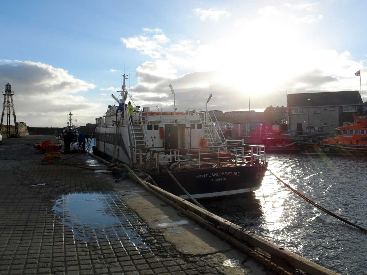 Photo: Wick Harbour January 2019