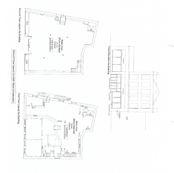Photo: Floor Plan-First and Second Floors