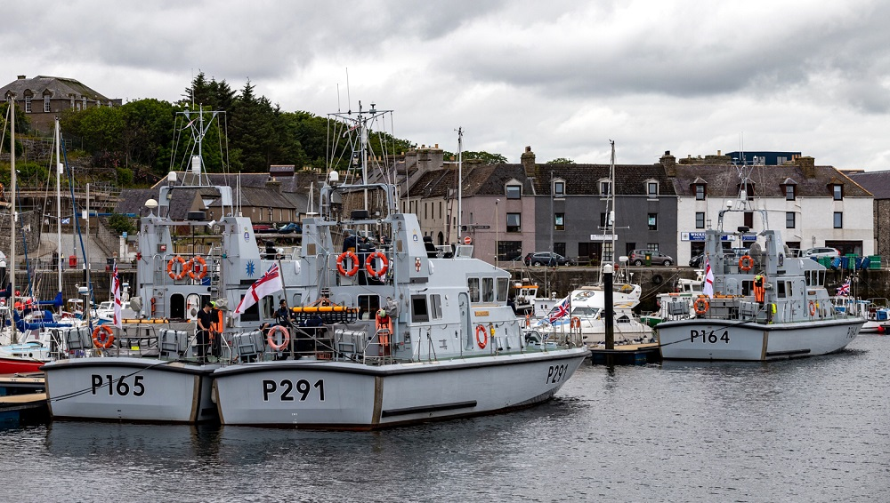 Photo: Royal Navy Boats at Wick