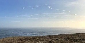 Who Made The Contrailsl at Dunnet 9 april 2020