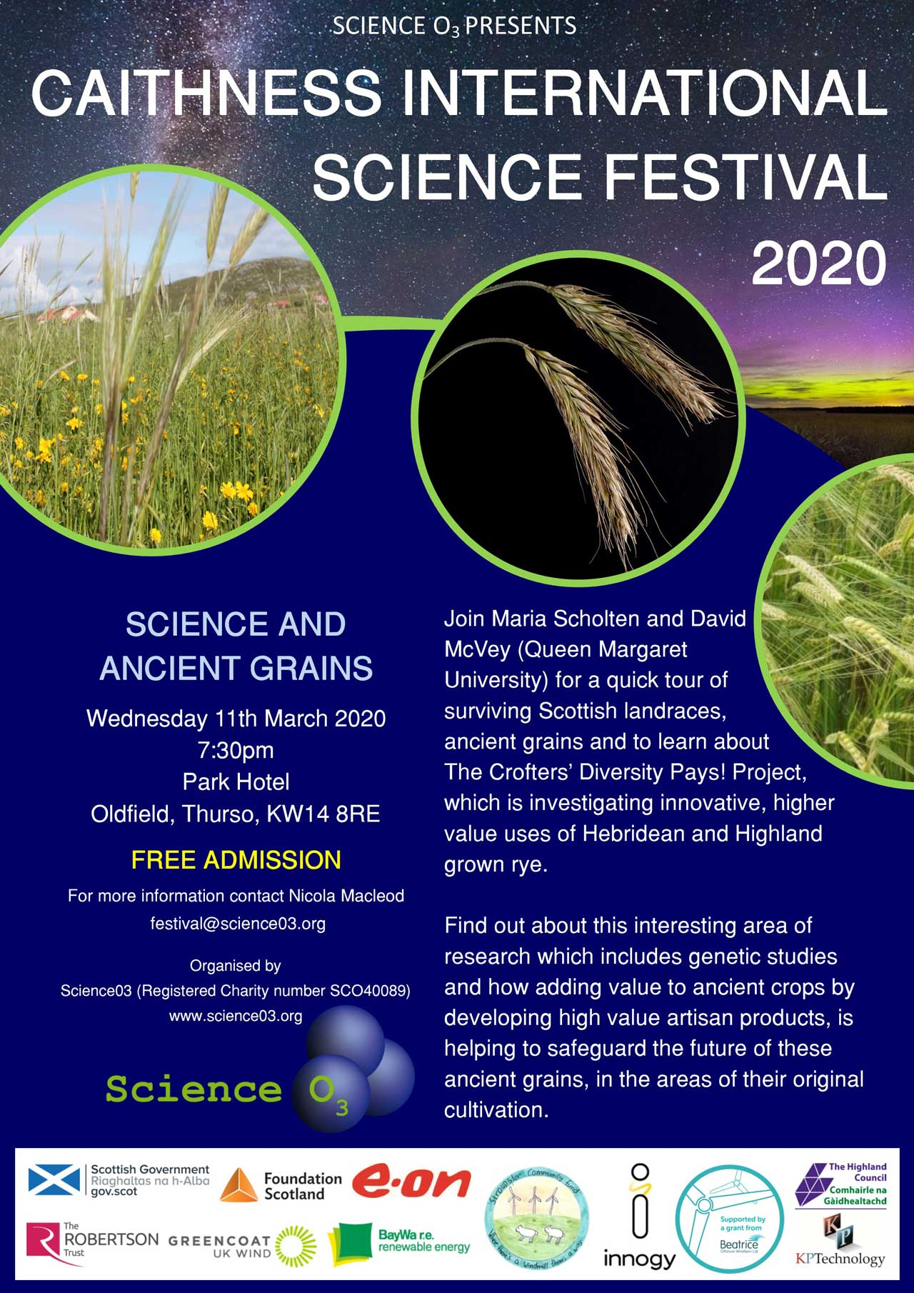Photo: Science And Ancient Grains