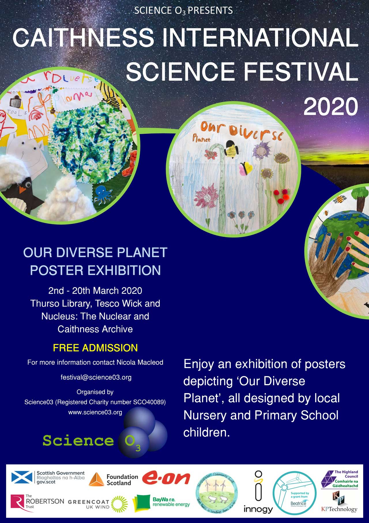 Photo: Our Diverse Planet Poster Exhibition - Cancelled due To Coronavirus Advice