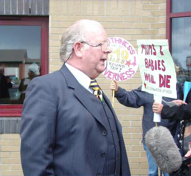 Photo: Frank Ward Interviewed About The Maternity Issue