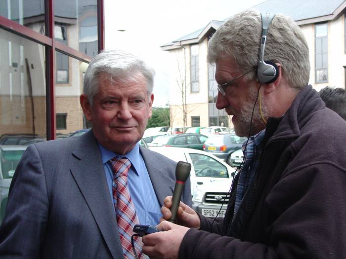 Photo: George Bruce NAG Chairman Interviewed For BBC Radio