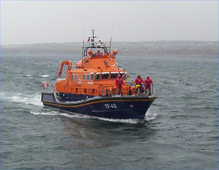 Photo: New Thurso Lifeboat - The Taylors