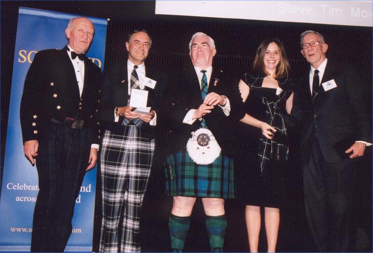 Photo: Three Generations Of Forbes At Wallace Award