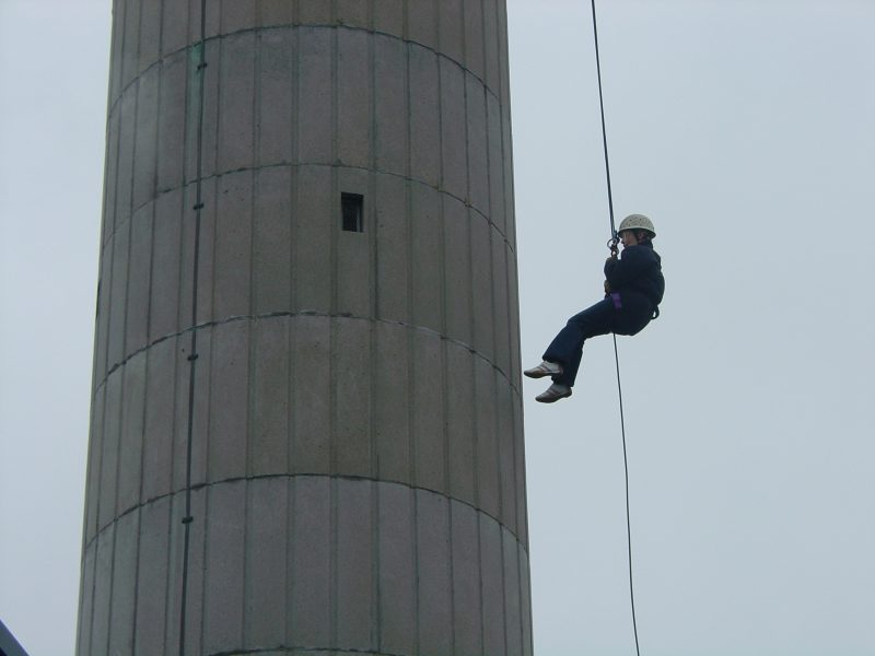 Photo: Abseilers Raise Over �10,000