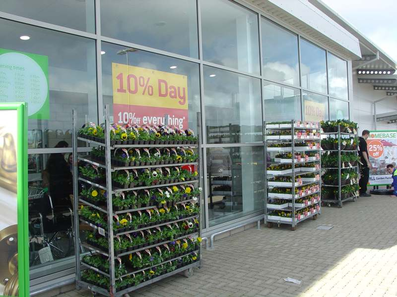 Photo: New Homebase Store At Wick Op[ened 13 April 2006