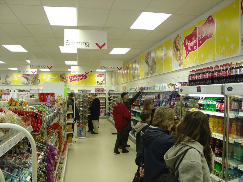 Photo: Super Drug Busy Since Opening