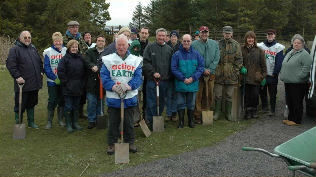 Photo: Volunteers From Wick Rotary, Caithness countryside Volunteers & Friends Of Newtonhill