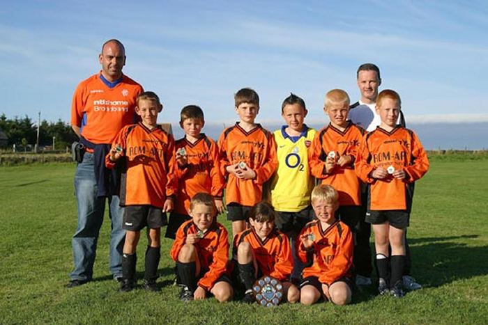 Photo: Thurso Youth Club 8s
