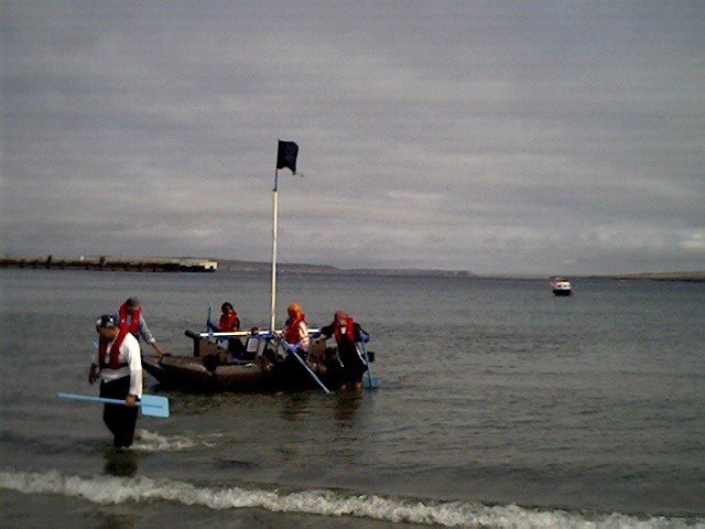 Photo: Thurso Bay Raft Race