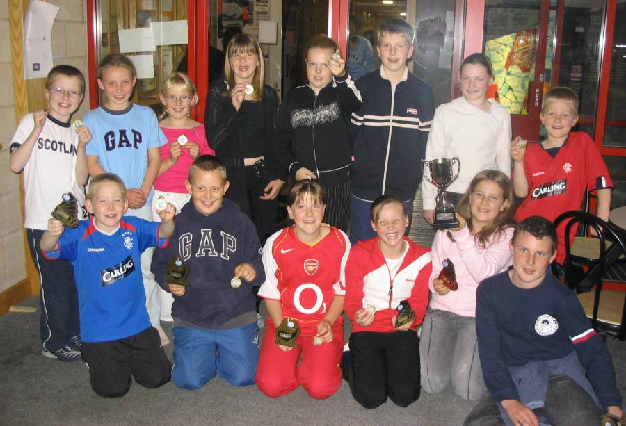 Photo: North Baths Medal Winners At Wick Swimming Pool
