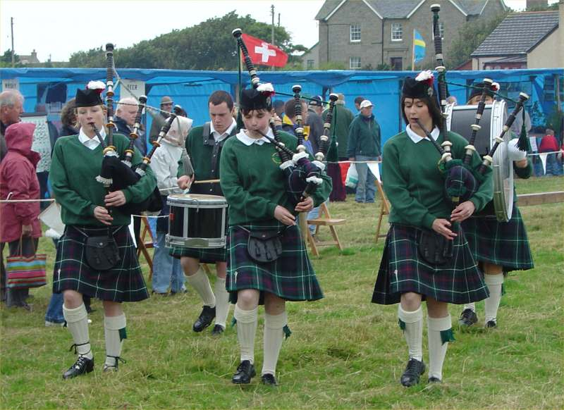 Photo: Marymas Fair At Dunnet - 27 August 2005